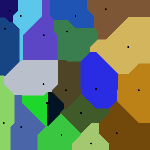 Voronoi Diagrams - the[rain]complex